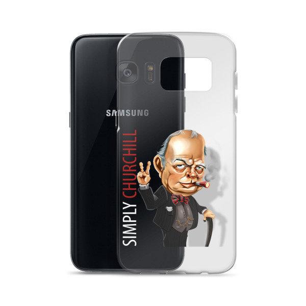 Simply Churchill Samsung Case