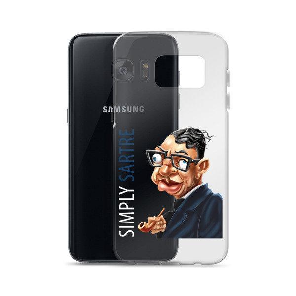 Simply Sartre Samsung Case 16842