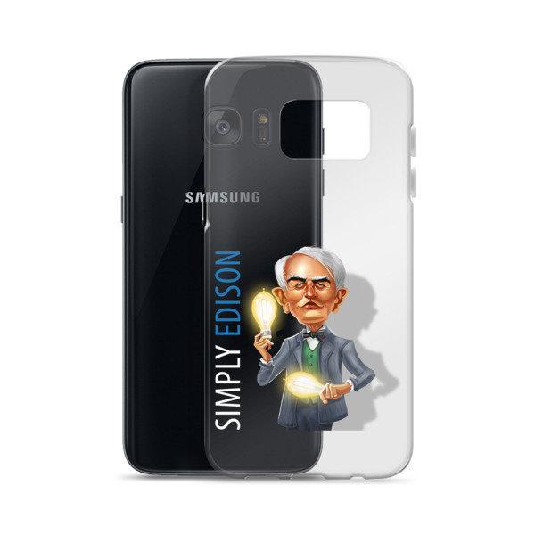 Simply Edison Samsung Case