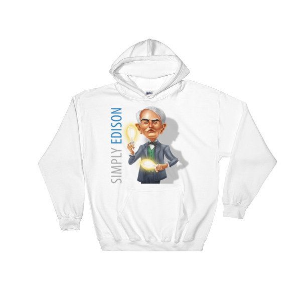 Simply Edison Hooded Sweatshirt