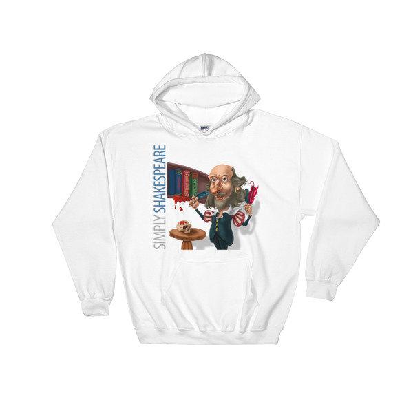 Simply Shakespeare Hooded Sweatshirt