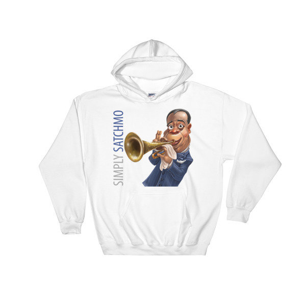 Simply Satchmo Hooded Sweatshirt