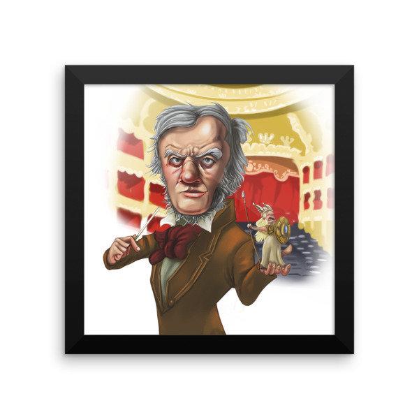 Richard Wagner Framed poster 16919