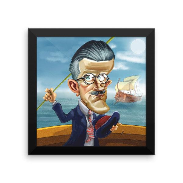 James Joyce Framed poster 16945