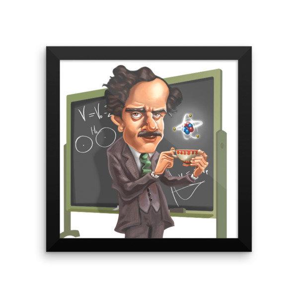 Paul Dirac Framed poster