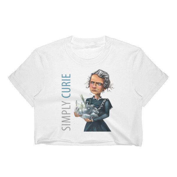 Simply Curie Women's Crop Top