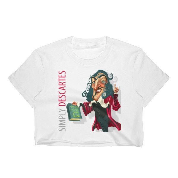 Simply Descartes Women's Crop Top