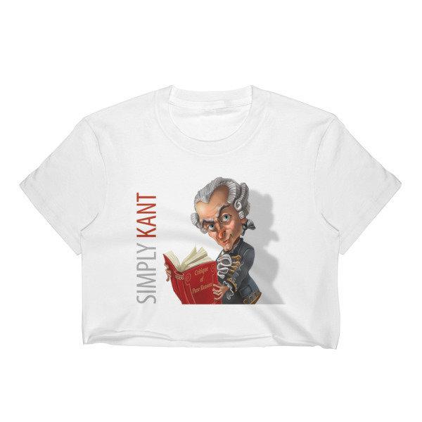 Simply Kant Women's Crop Top