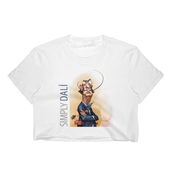 Simply Dalí Women's Crop Top