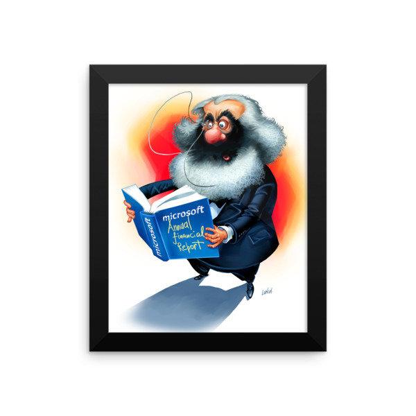 Karl Marx Framed poster