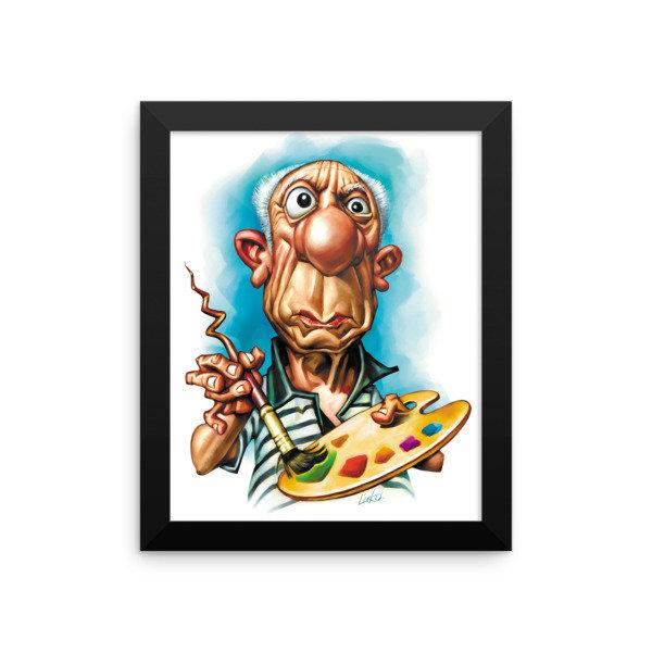 Pablo Picasso Framed poster 17006