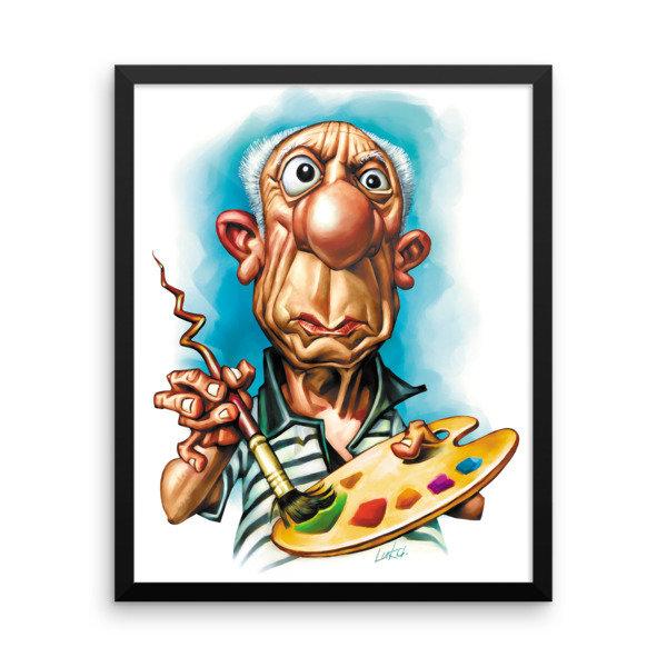 Pablo Picasso Framed poster