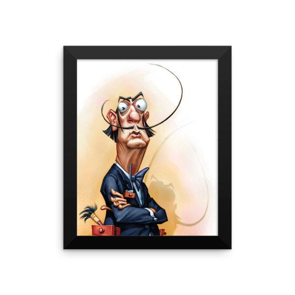 Salvador Dalí Framed poster 17008