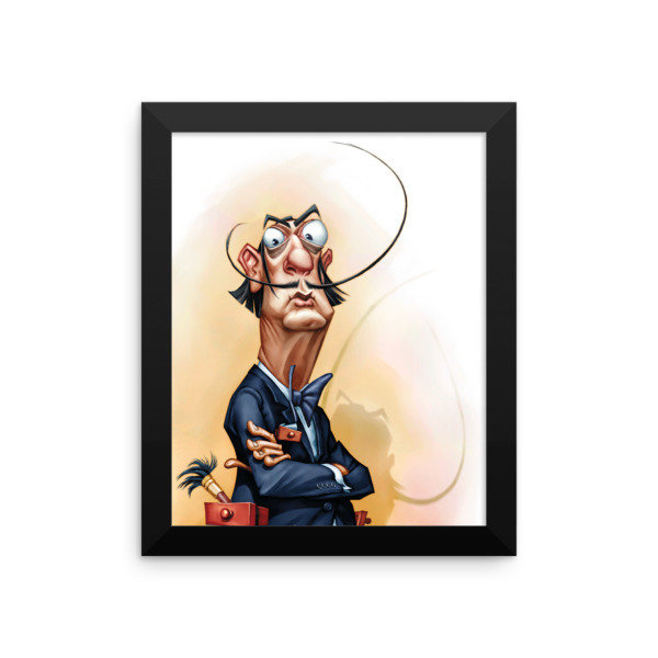 Salvador Dalí Framed poster