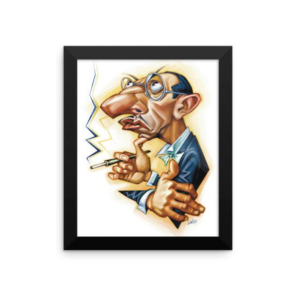 Igor Stravinsky Framed poster
