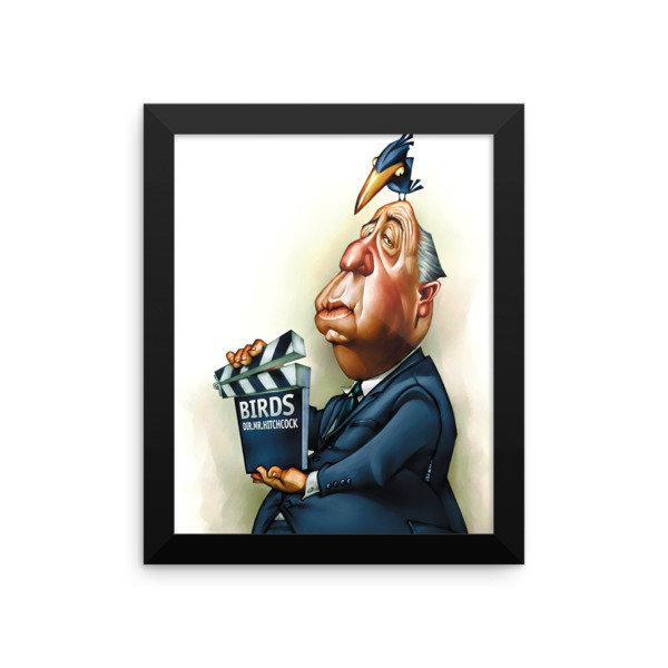 Alfred Hitchcock Framed poster 17011