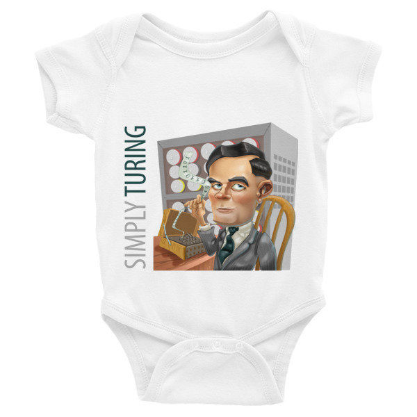 Simply Turing Infant Bodysuit