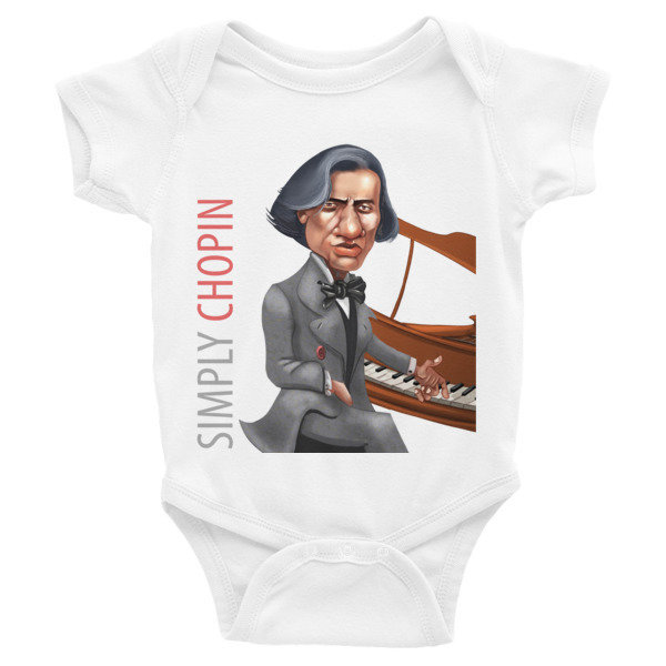 Simply Chopin Infant Bodysuit