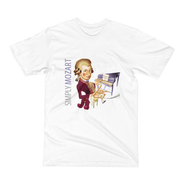 Simply Mozart Men's T-Shirt