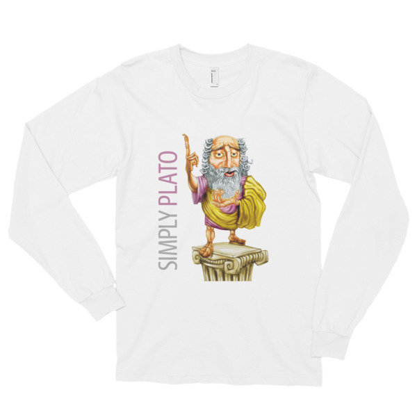 Simply Plato Long Sleeve T-Shirt (unisex)