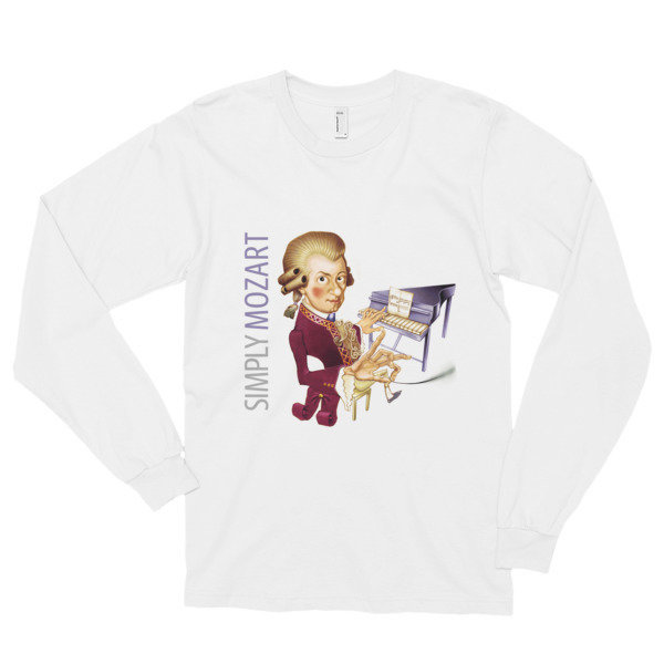 Simply Mozart Long Sleeve T-Shirt (unisex)