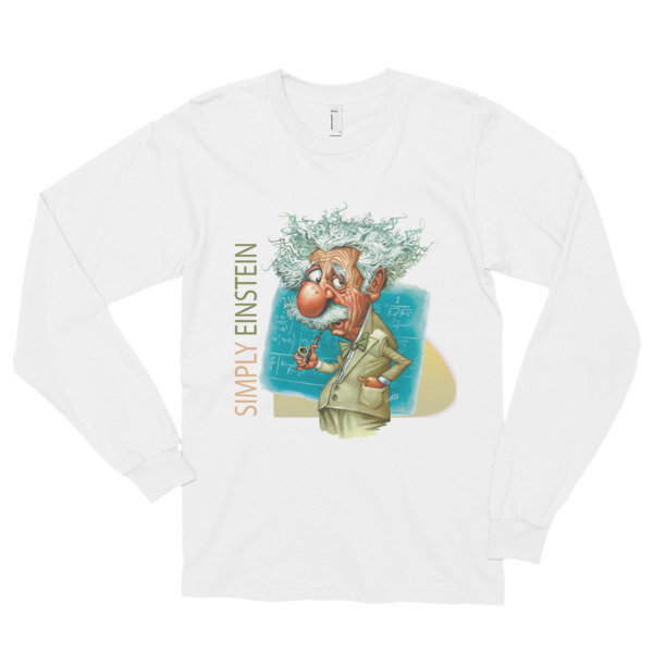 Simply Einstein Long Sleeve T-Shirt (unisex)