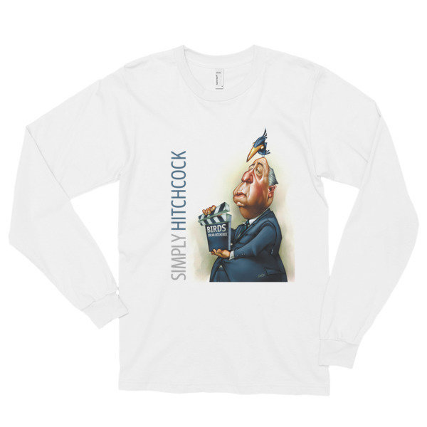 Simply Hitchcock Long Sleeve T-Shirt (unisex)