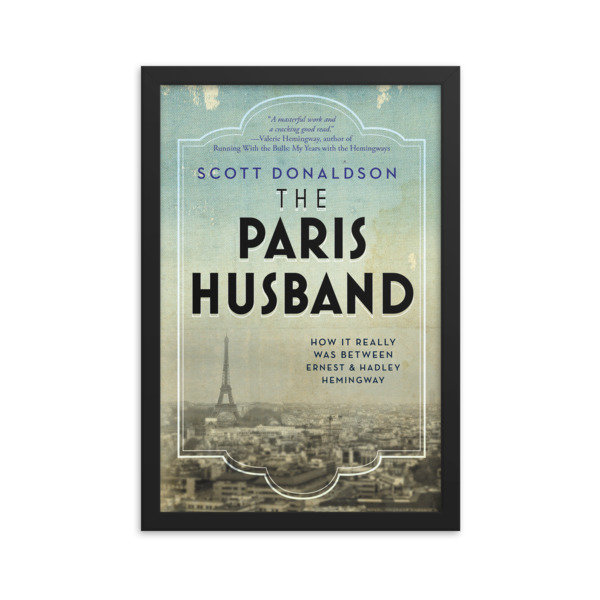 The Paris Husband Framed Poster