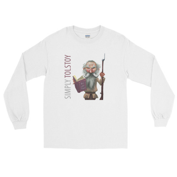 Simply Tolstoy Long Sleeve T-Shirt