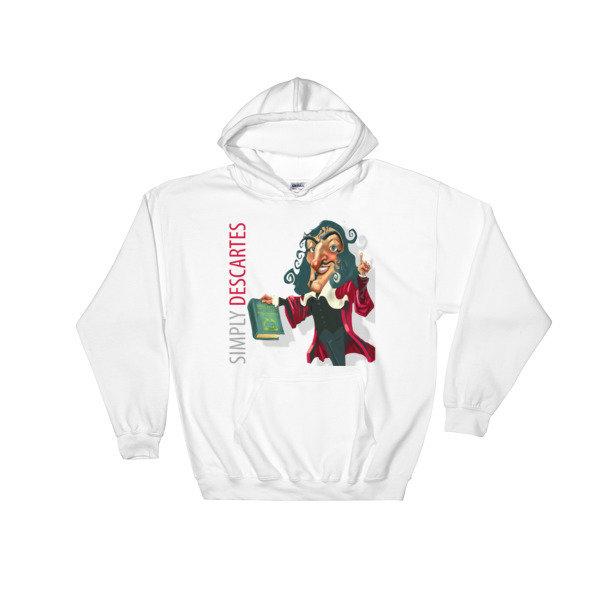 Simply Descartes Hooded Sweatshirt
