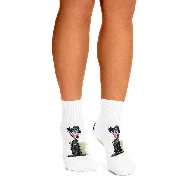 Charlie Chaplin Ankle Socks