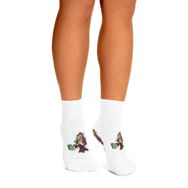 René Descartes Ankle Socks 17161