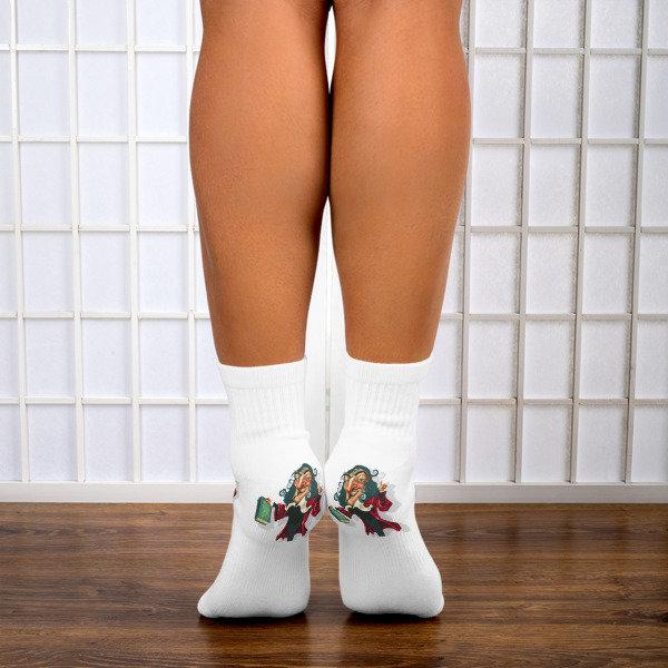 René Descartes Ankle Socks