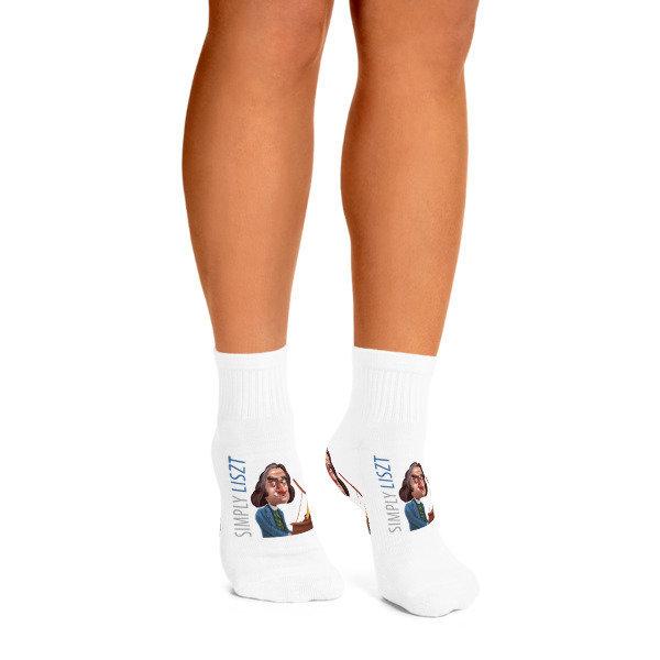 Simply Liszt Ankle Socks