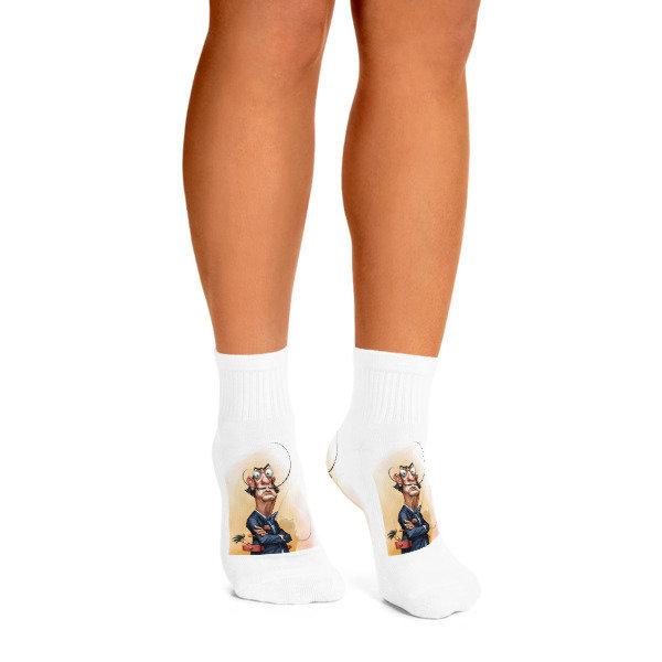 Salvador Dalí Ankle Socks