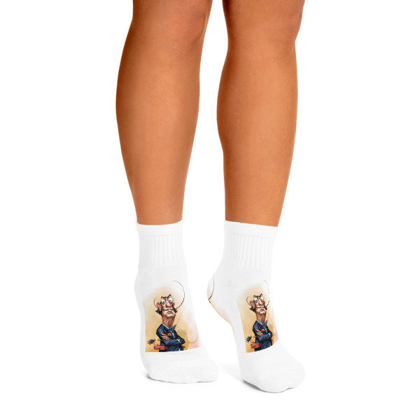 Salvador Dalí Ankle Socks