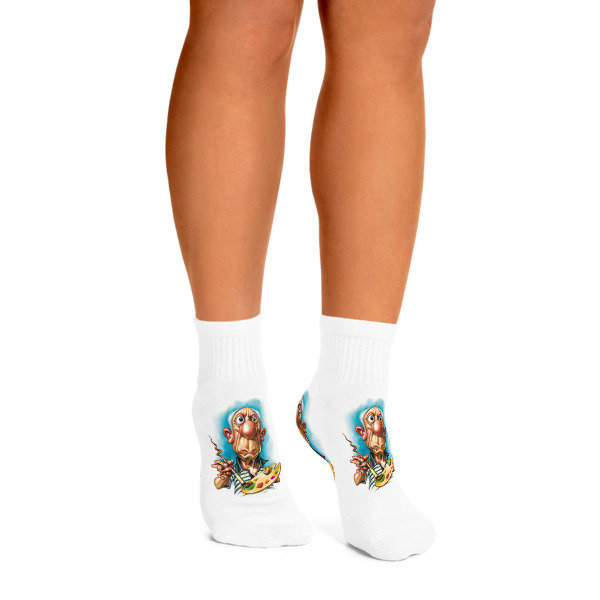 Pablo Picasso Ankle Socks