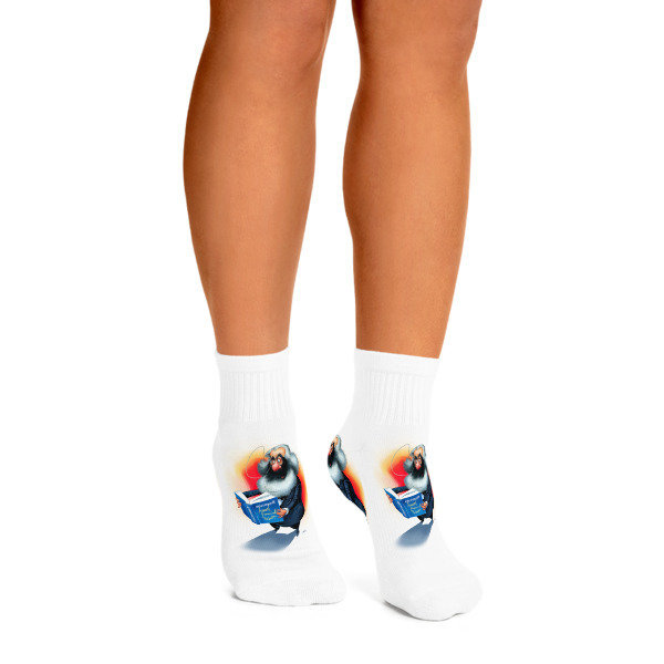 Karl Marx Ankle Socks