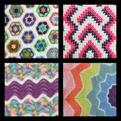 Reiki Infused Crocheted Afgans