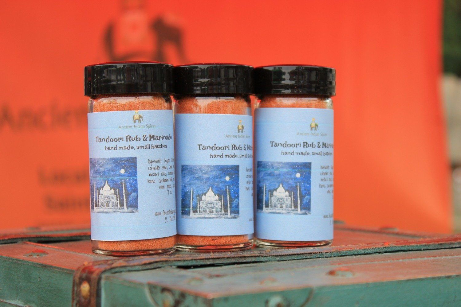 Tandoori Spices (organic), 2 oz. jar