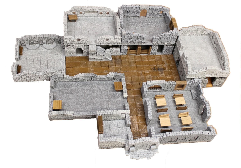 Thieve's Guild - 3D Stackable - 10 Room Set