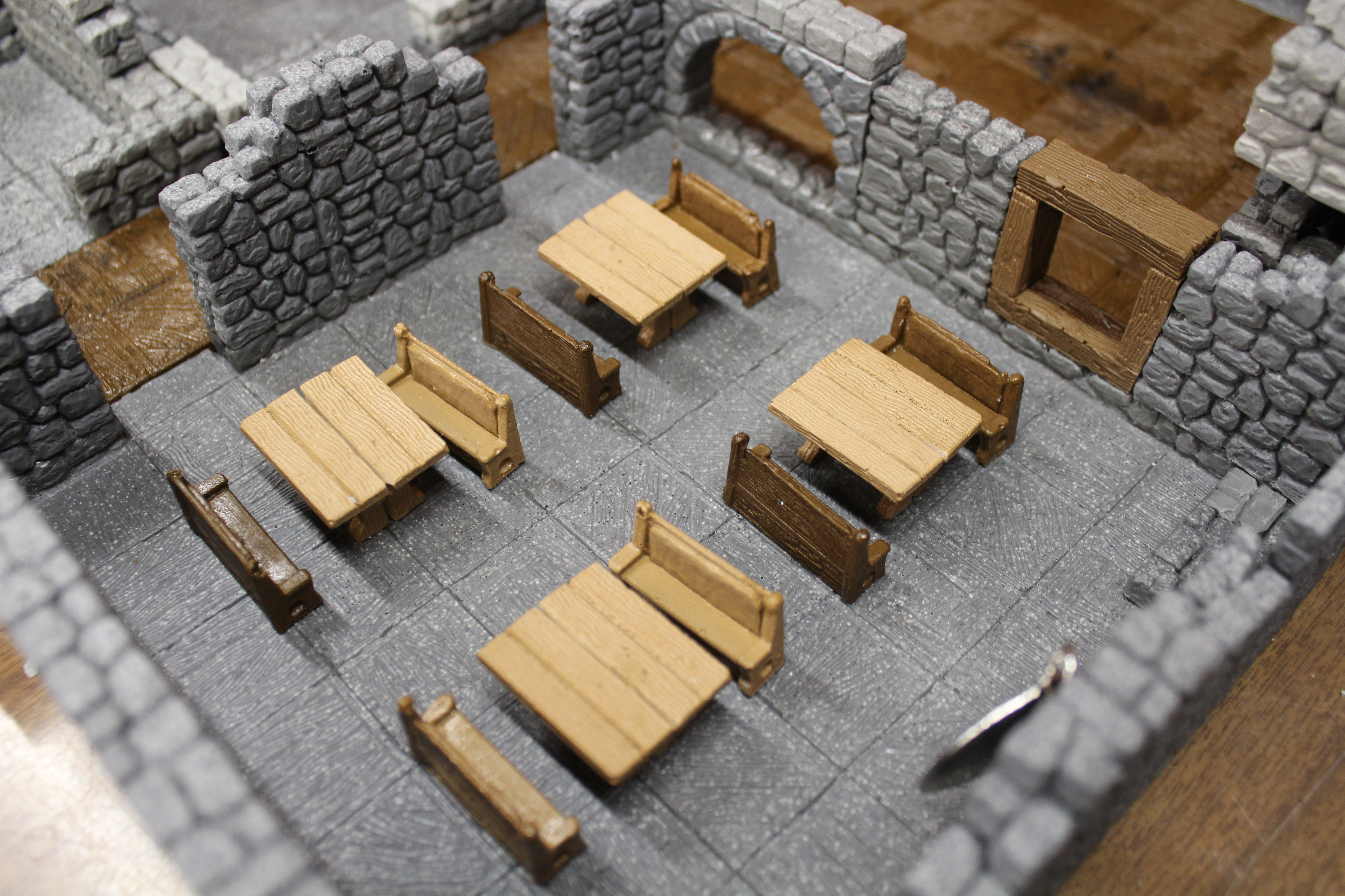 Thieve's Guild - 3D Stackable - 10 Room Set