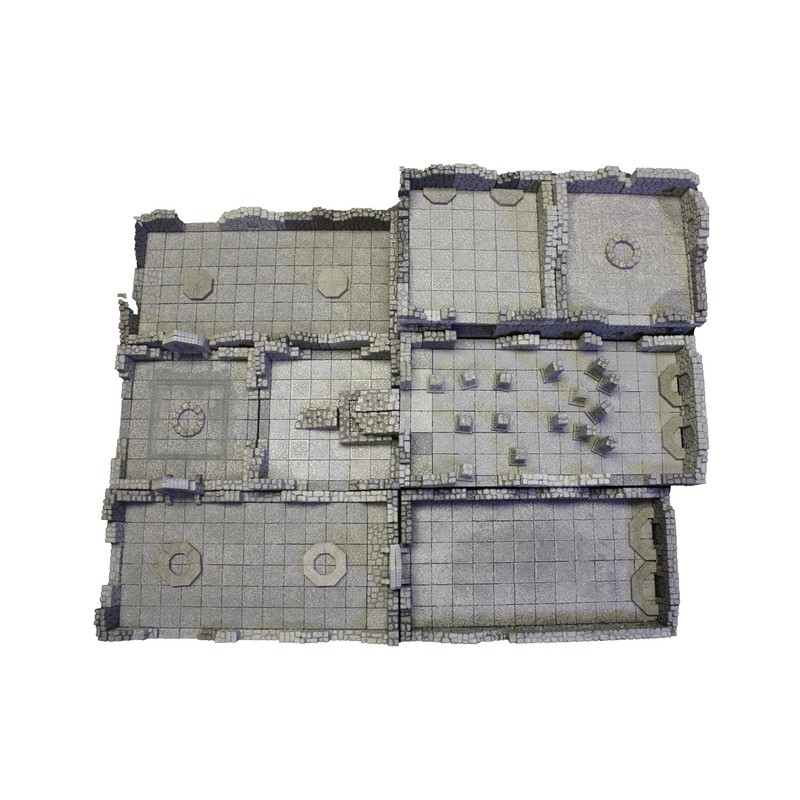 The Catacombs: Stackable Dungeons with Ruined Walls