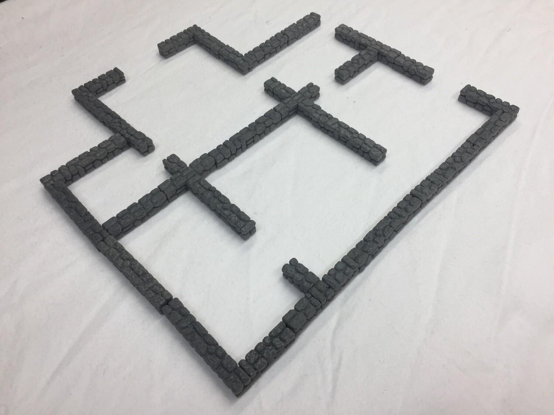 Non-Magnetic Wall Blocks