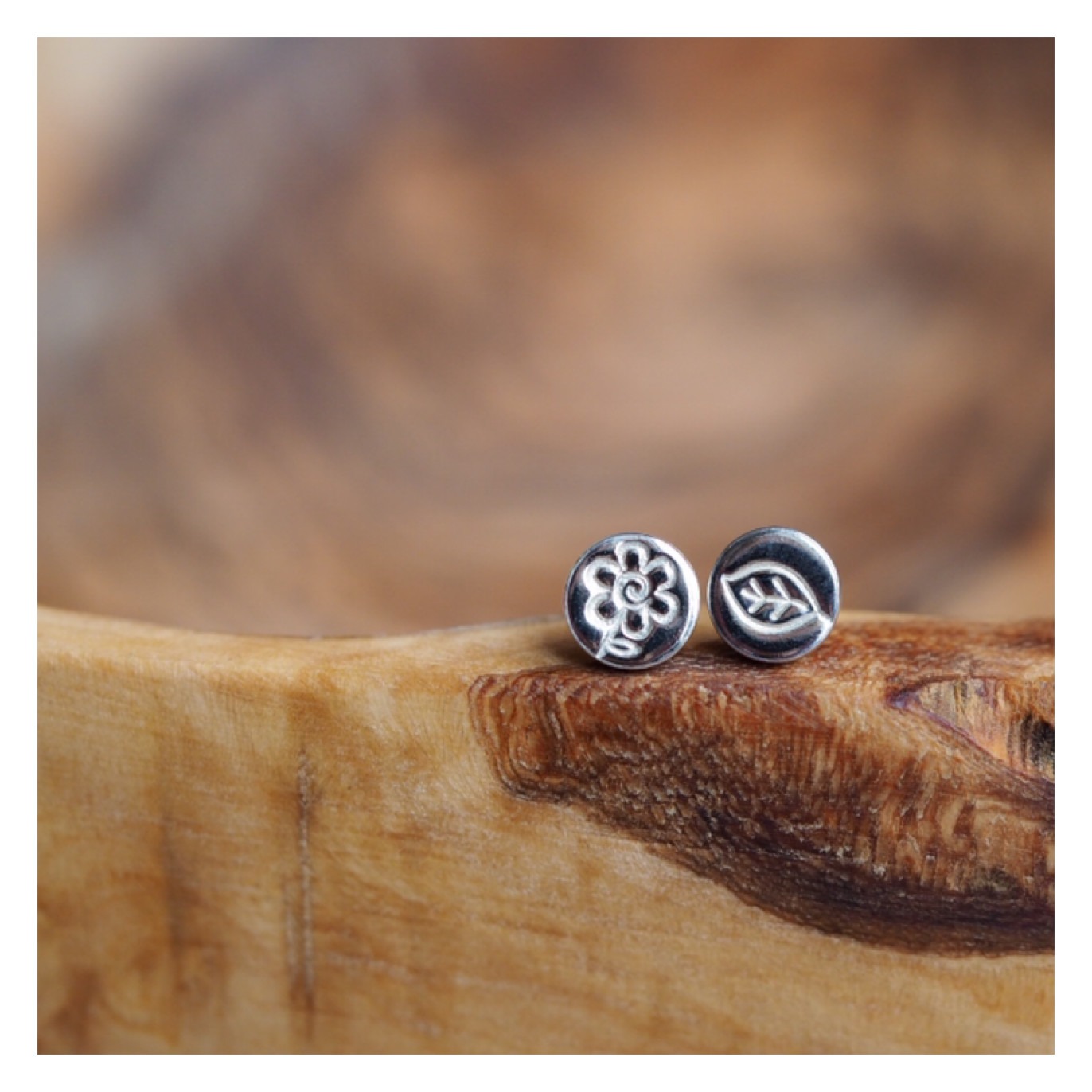 Design Your Own Sterling Silver Earrings *SINGLES*