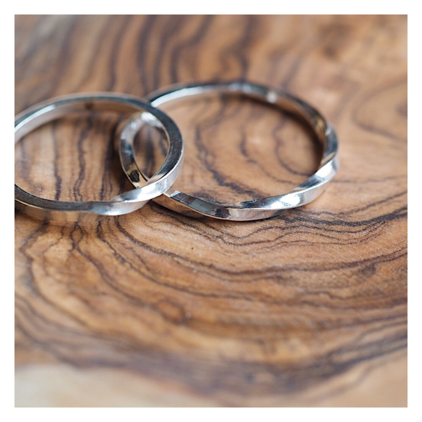 Sterling Silver Twisted Band