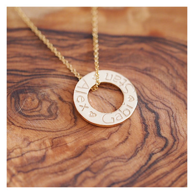 Design Your Own Necklace - MIDI WASHERS
