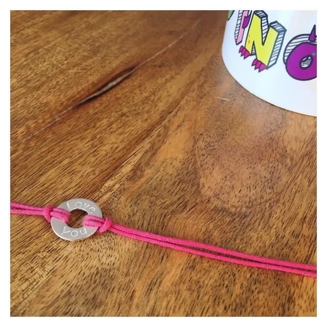 MIDI Sterling Silver Children's Washer Bracelet CHWASHBRACE