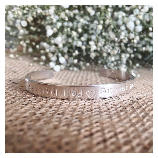 Personalised Sterling Silver Luxury Bangle 6mm 6MMLUXBANGLE