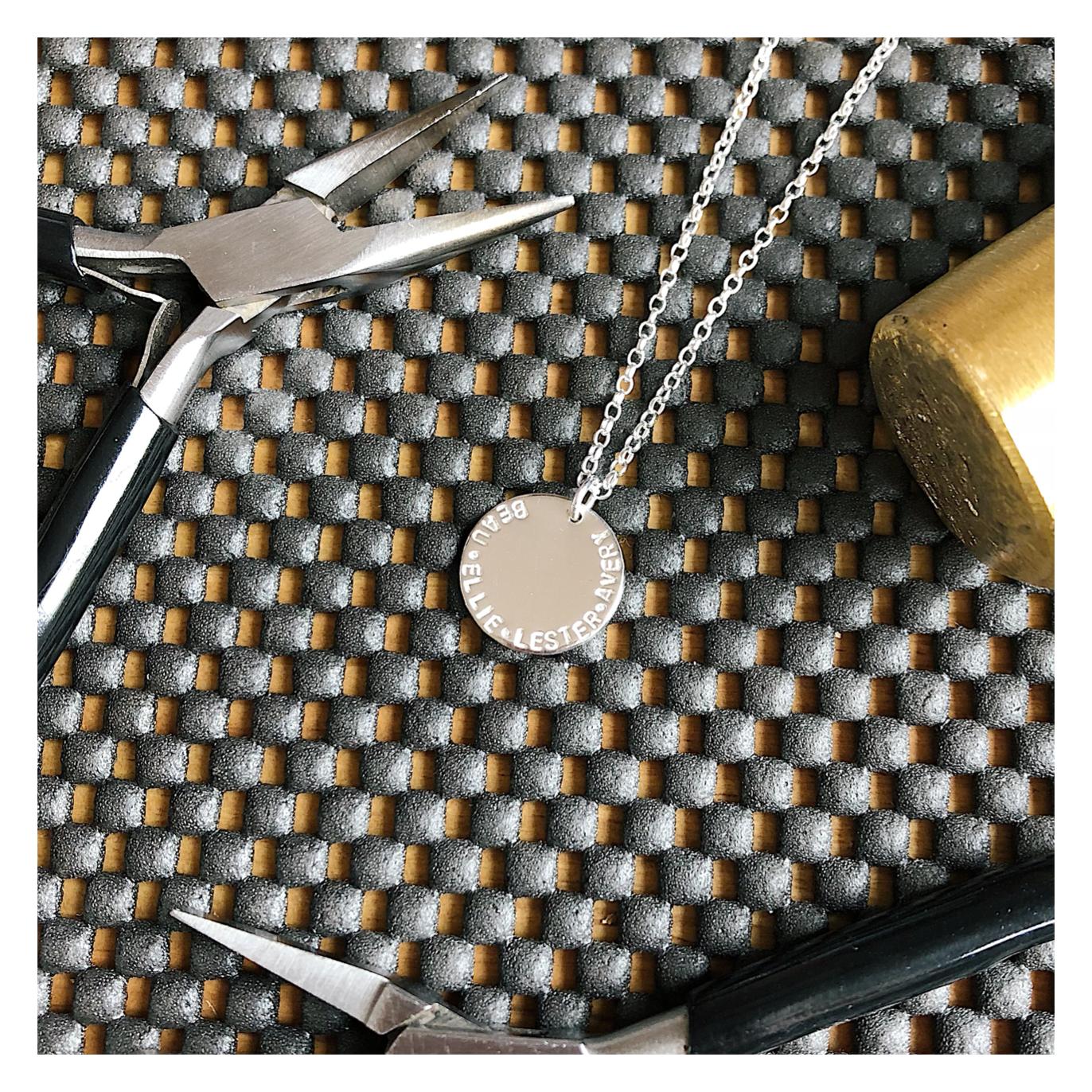 Design Your Own Necklace - MIDI DISCS DYOMIDIDISC